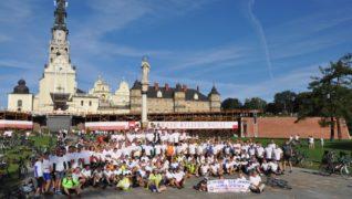 Pod patronatem Solidarności 39 raz rowerami na Jasną Górę