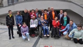 Mistrz olimpijski Rafał Wilk obecny wśród osób niepełnosprawnych
